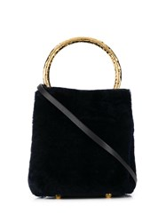 Marni Pannier Tote Bag Black
