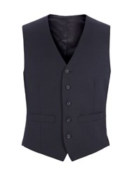 Pierre Cardin Men's Edward Navy Birdseye Vest Navy