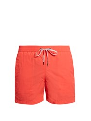Onia Charles 5 Block Colour Swim Shorts Pink