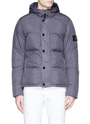 Stone Island 'Crinkle Reps' Down Puffer Jacket Purple