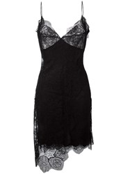 Ermanno Scervino Lace Short Dress Black