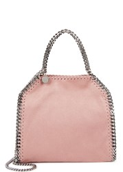 Stella Mccartney Falabella Mini Blush Faux Suede Shoulder Bag Light Pink