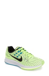 Women's Nike 'Air Zoom Structure 19' Running Shoe Ghost Green Black White