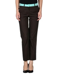 Maurizio Pecoraro Casual Pants Dark Brown