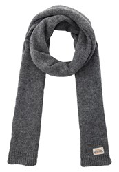 Superdry Misty Scarf Charcoal Mix Mottled Dark Grey