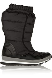Adidas By Stella Mccartney Kattegat Quilted Shell Boots Black