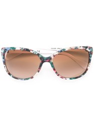 Dolce And Gabbana Floral Print Sunglasses