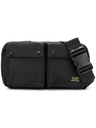Mhi Maharishi Travel Belt Bag Black
