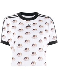 Fiorucci X Adidas All Over Angels T Shirt White