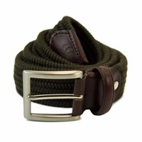40 Colori Green Wool Elasticated Belt