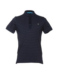 Duck And Cover Polo Shirts Dark Blue
