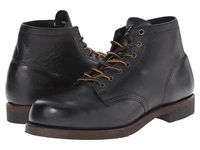 Frye Prison Boot Black Oiled Vintage Men's Lace Up Boots