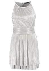 Esprit Collection Cocktail Dress Party Dress Silver