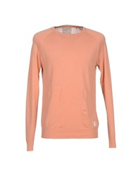 Guess Knitwear Jumpers Men Salmon Pink