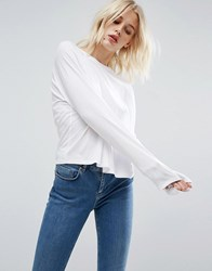 Asos T Shirt In Boxy Fit White