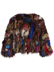 Jocelyn Short Fur Jacket