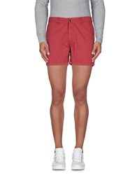 Napapijri Trousers Bermuda Shorts Men Brick Red