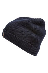 Men's Polo Ralph Lauren Merino Wool Beanie Blue Hunter Navy