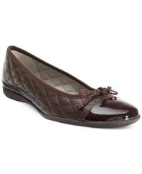 French Sole Fs Ny Passport Flats Women's Shoes Brown