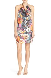 Women's Eci Print Halter Shift Dress