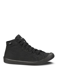 Palladium Canvas Flex Lace Sneakers Black