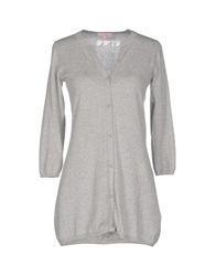 Sun 68 Cardigans Light Grey