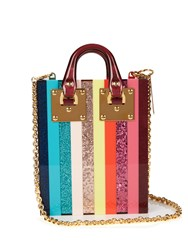 Sophie Hulme Compton Rainbow Striped Bag Multi