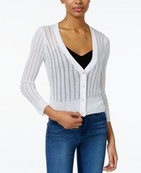 Maison Jules Ribbed Lightweight Cardigan Only At Macy's Egret