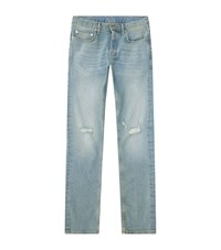Sandro Iggy Distressed Skinny Jeans Male Blue