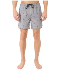 Tavik Structure Boardshorts Grey Men's Swimwear Gray
