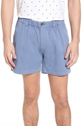 Vintage 1946 Snappers Elastic Waist 5.5 Inch Stretch Shorts Blueberry