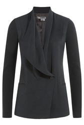 Vince Draped Blazer Black