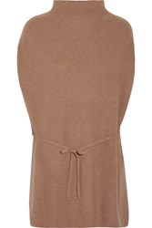 Theory Lotunia Cashmere Sweater Light Brown