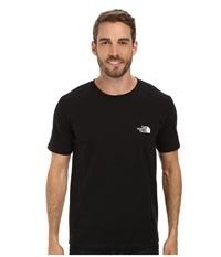 The North Face S S Heritage Diamond Tee Tnf Black Men's T Shirt