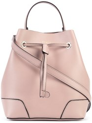 Furla Bucket Tote Women Leather One Size Pink Purple