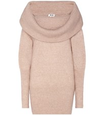 Acne Studios Daze Mohair And Wool Blend Sweater Pink