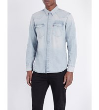 Levi's Barstow Slim Fit Western Shirt Gritty Patch Light