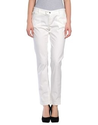 Pf Paola Frani Casual Pants White