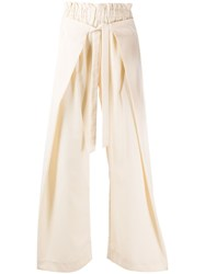 Cult Gaia Layered Wide Leg Trousers 60