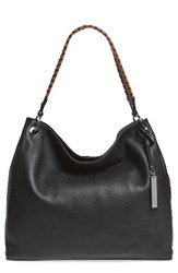 Vince Camuto Nadja Leather Hobo Black Nero