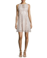 Nanette Lepore Sleeveless Embellished Party Dress Ivory