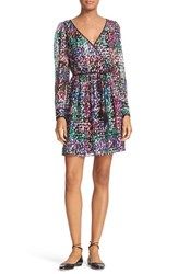 Kate Spade Women's New York Metallic Multi Dot Minidress