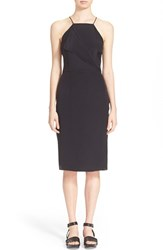 Women's Tomas Maier Silk Sheath Dress