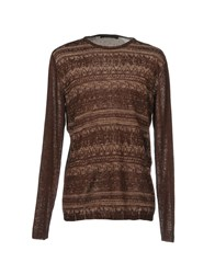 Messagerie Knitwear Jumpers Cocoa