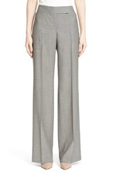 Women's Akris 'Marlene' Wide Leg Wool Pants
