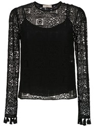 Spacenk Nk Lace Top Black