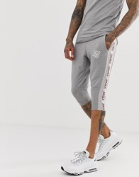 Sik Silk Siksilk Co Ord Shorts In Grey With Side Stripe
