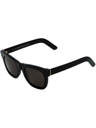 Retro Super Future 'Ciccio Black' Sunglasses