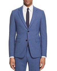Theory Chambers Slim Fit Suit Separate Sport Coat Blue Iris