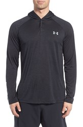 Under Armour Men's 'Ua Tech' Long Sleeve Hooded Henley